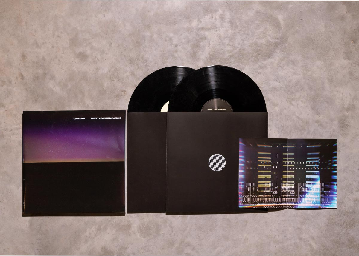 Hardly A Day, Hardly A Night by Cubicolor - vinyl