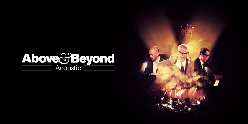 "Pre-order Above & Beyond ""Acoustic"" from iTunes and the Anjunastore now!"